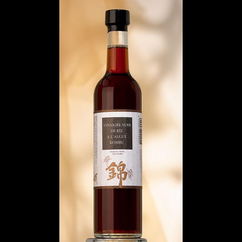 Condiment Kombu Kurozu au vinaigre de riz brun et à l'algue kombu