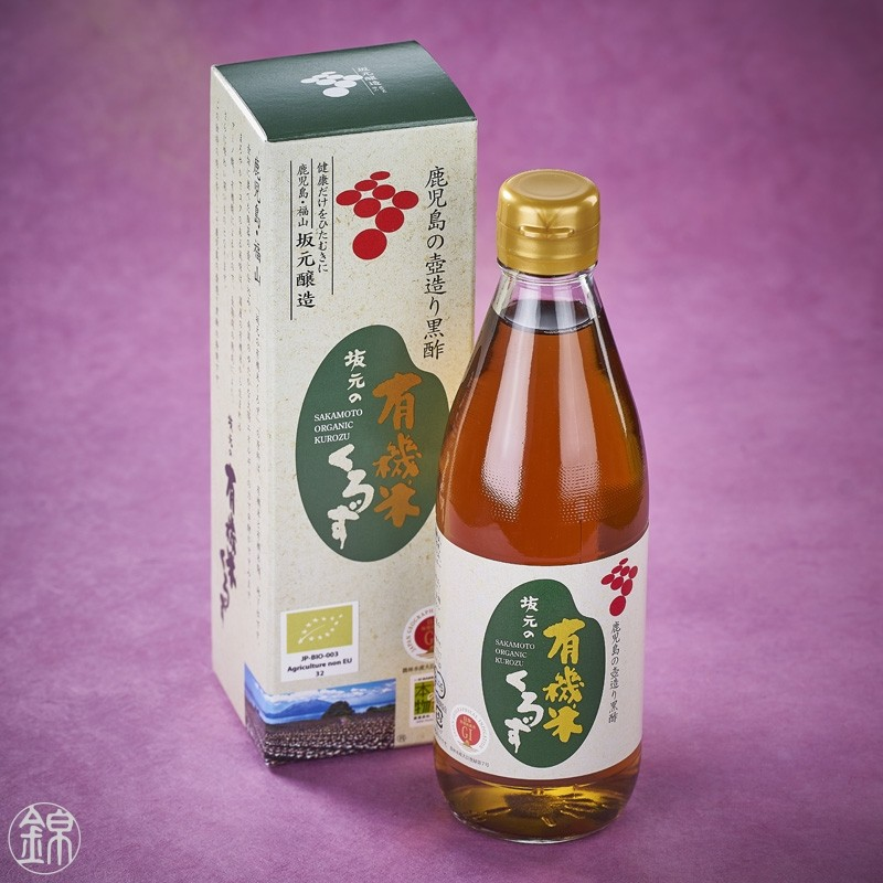 Vinaigre noir de riz BIO Sakamoto Kurozu*