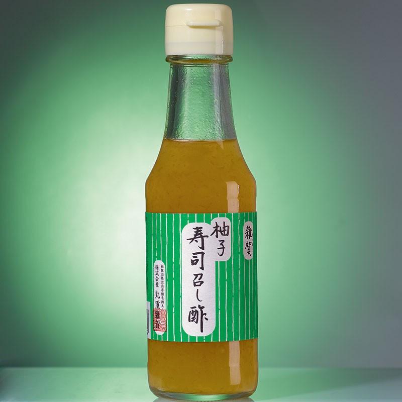 Condiment au vinaigre de riz et au Yuzu