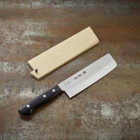 Couteau Nakiri à légumes, lame martelée 165 mm Kitchen Series