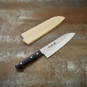 Couteau Santoku, lame martelée 165 mm Kitchen Series