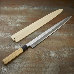Syubu knife for sashimi 360 mm blade - right hand