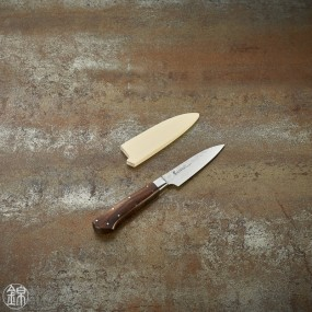 Petty knife 80 mm hammered blade