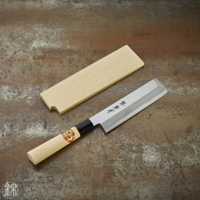 Usuba knife for vegetables 150 mm thin blade - right hand Kasumi Togi series (traditionnal sharpening method)