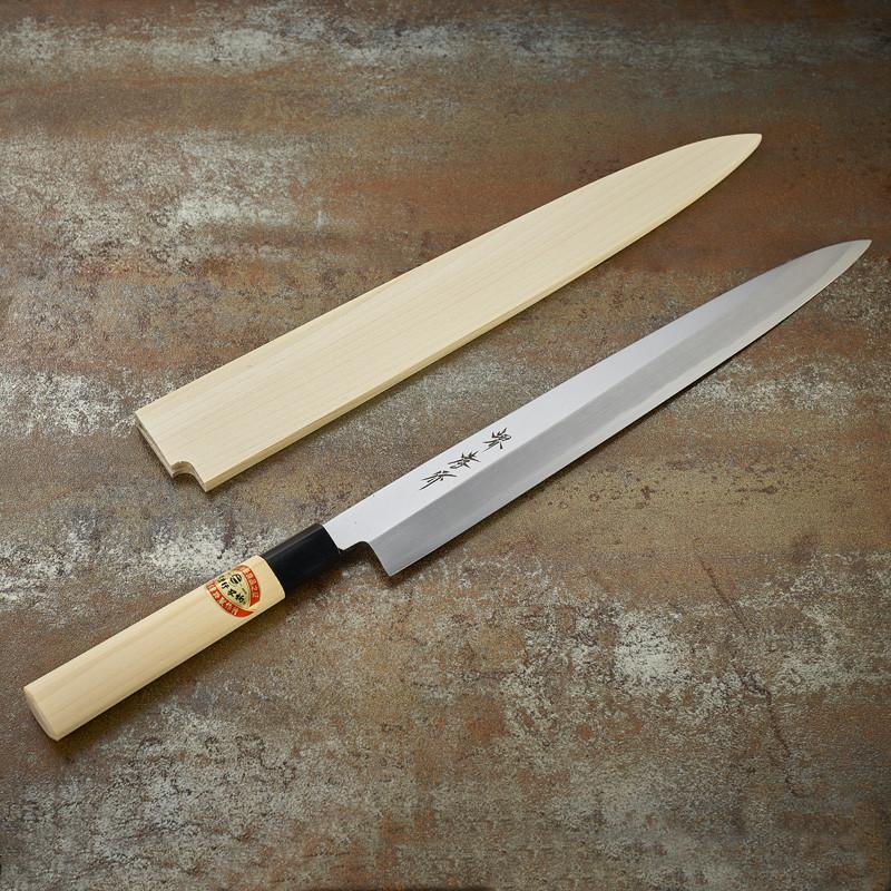 Couteau à sashimi lame 300 mm - droitier Série Kasumi Togi (Méthode d'affutage traditionnelle)