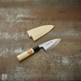 Deba knife for fish and poultries 90 mm blade - right hand