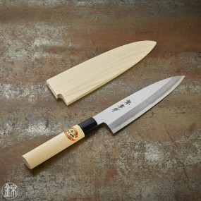 Funayuki Deba knife for fish 195 mm blade - right hand Kasumi Togi series (traditionnal sharpening method)