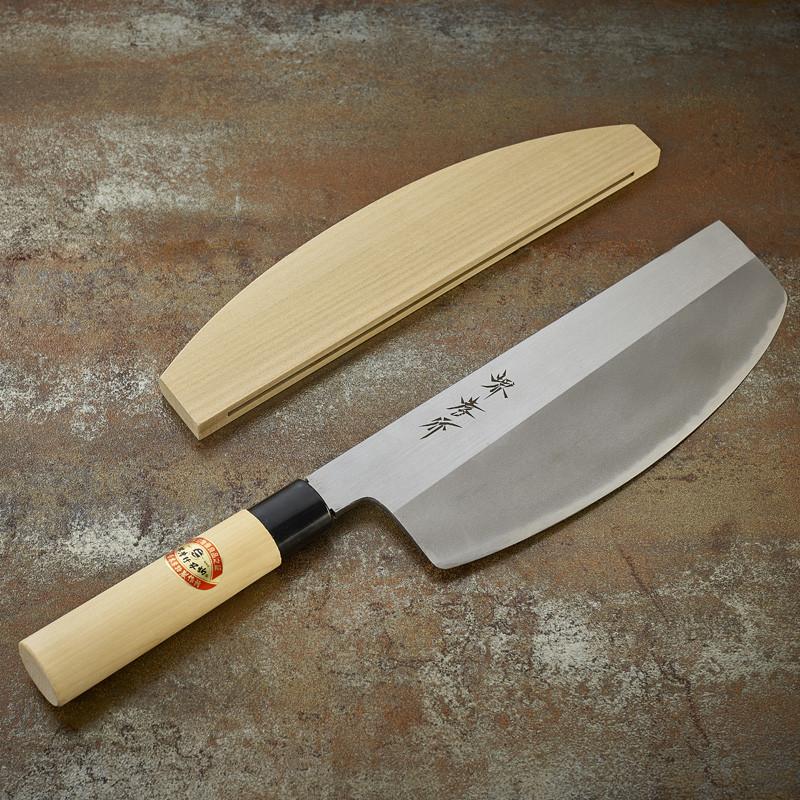 Couteau Sushi Kiri spécial maki lame 240 mm - droitier Série Kasumi Togi (Méthode d'affutage traditionnelle)
