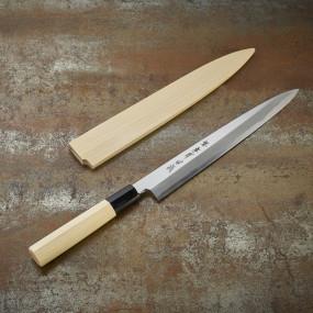 Couteau à sashimi lame 240 mm - droitier Série Tokujou