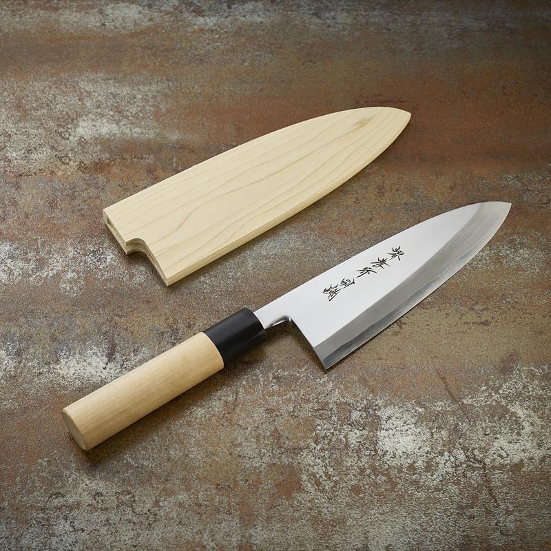 Couteau Deba pour poissons et volailles lame 180 mm - droitier Couteaux Japonais