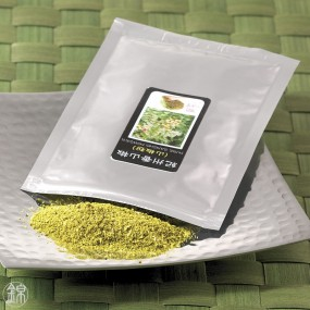 Powdered dried green Sansho grape berries