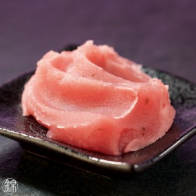 Sakura cherry tree leaf flavored white bean paste