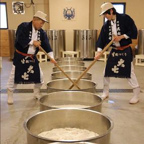 Daishichi Yukishibori Nigori sake