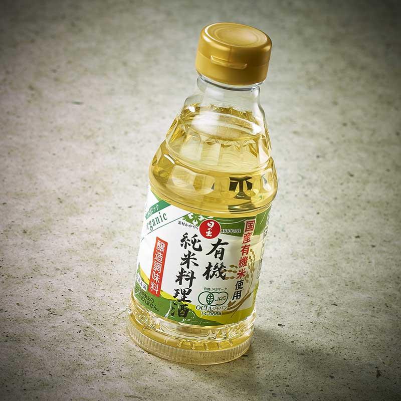 Organic King Jyozo Junmaï cooking sake*