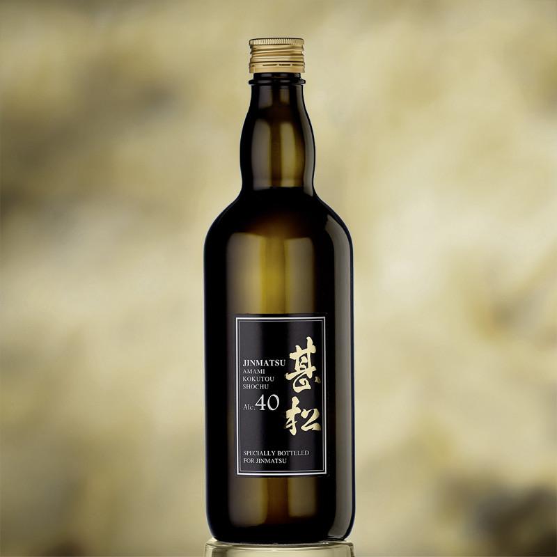 Sôchû de sucre noir Jinmatsu Amami Kokuto Sôchû  Umeshu - Shôchû et vin