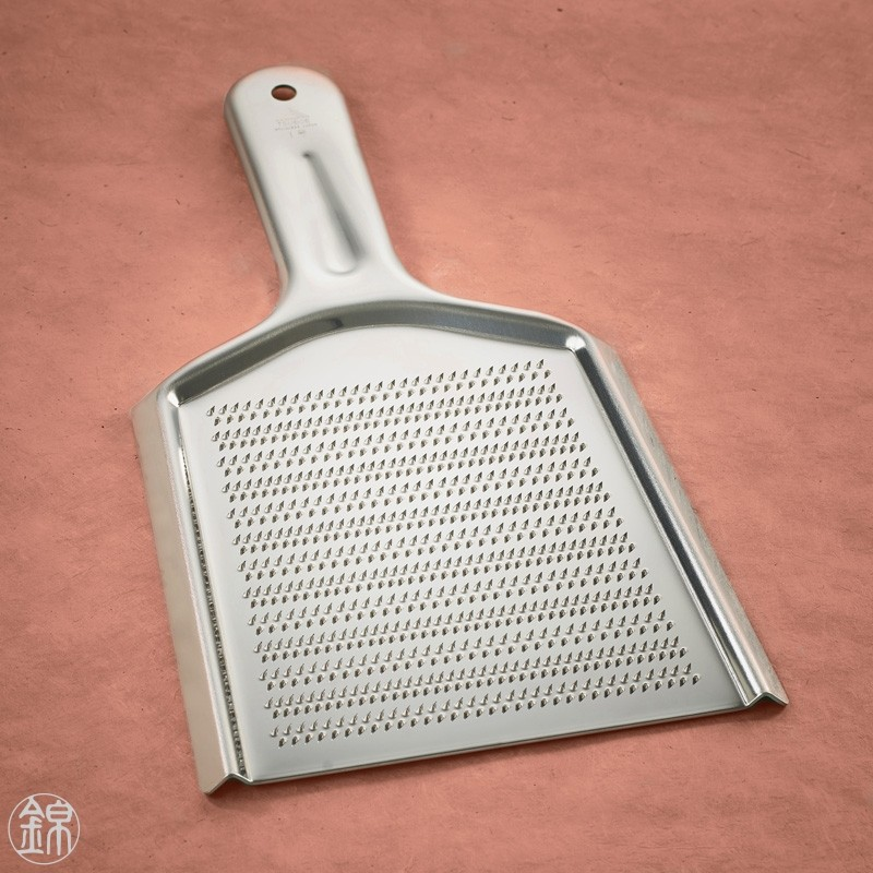 Stainless Orochigane grater XL size Oroshigane metal Wasabi graters