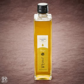 Rapeseed and olive oil flavored with ginger