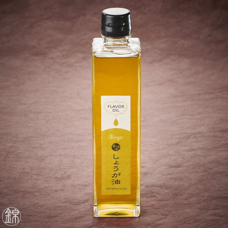 Rapeseed and olive oil with natural ginger flavor Oil