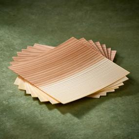 Plaquettes de bois de cèdre Sugi Ita pour cuisson