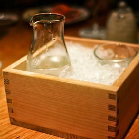 Tebineri small carafe for sake or dashi Tableware