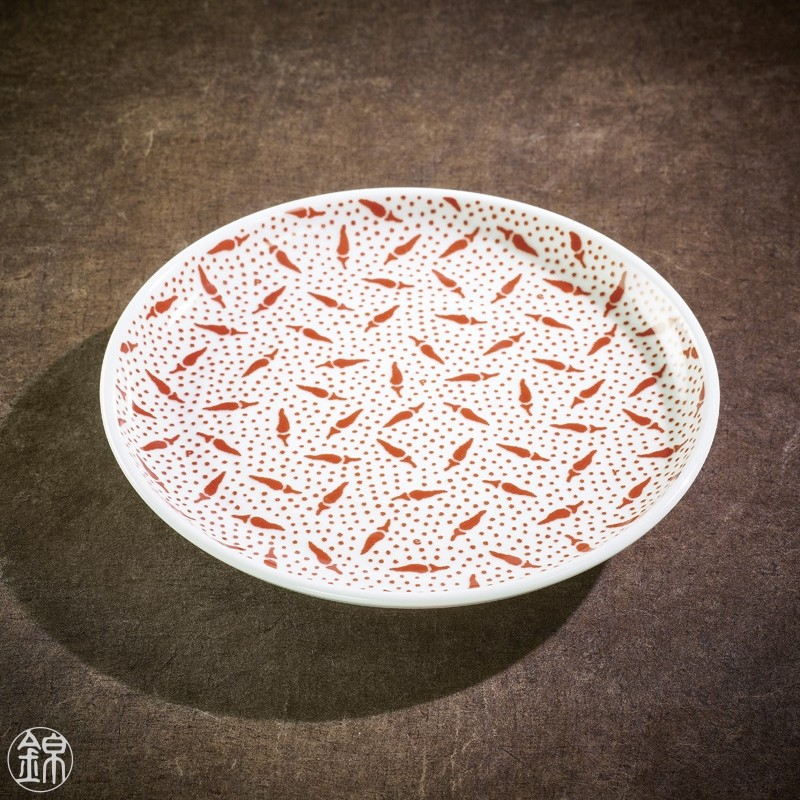 Nikko porcelain round plate