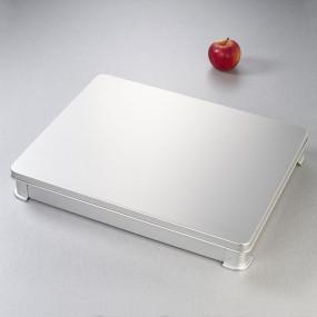 Display dish lid VAT system