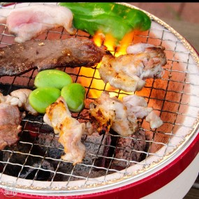Shichirin barbecue for table L size