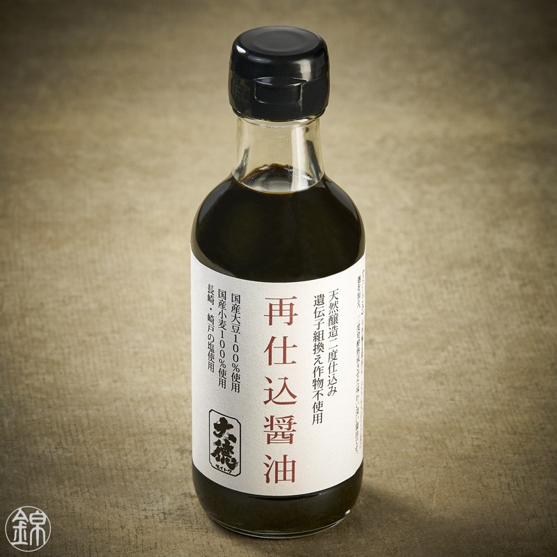Double fermentation Saishikomi soy sauce