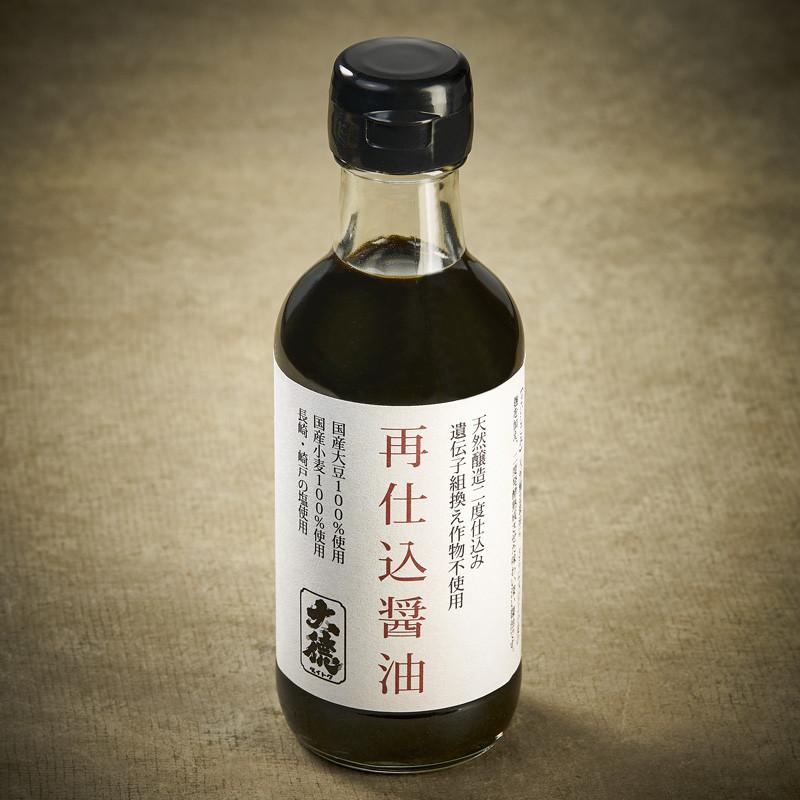 Sauce soja Saishikomi double fermentation Sauce soja