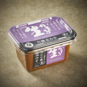 Miso rouge d'orge BIO, fermentation longue, non pasteurisé*