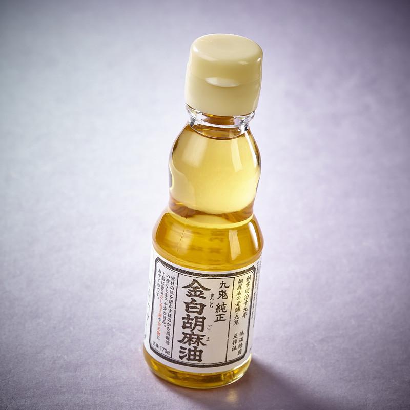 Clear roasted Kinshira sesame oil