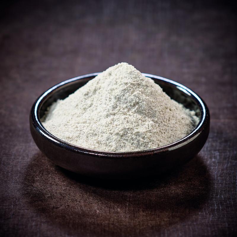 Japanese unpolished buckwheat flour
