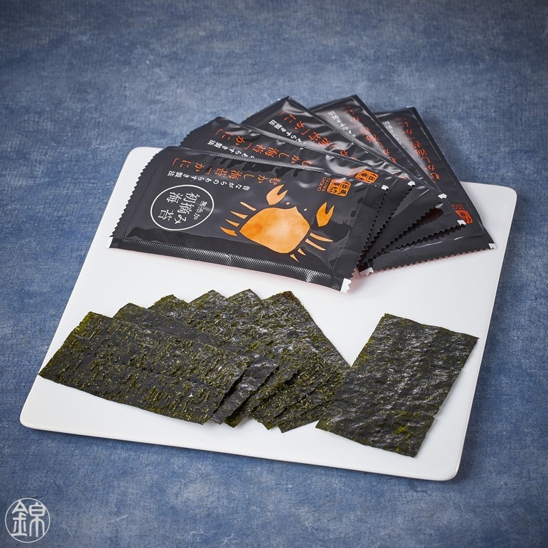 Snow crab flavored grilled nori seaweed