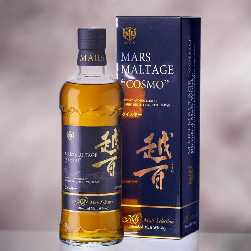 Mars Maltage Cosmo Malt Selection Japanese Whiskey