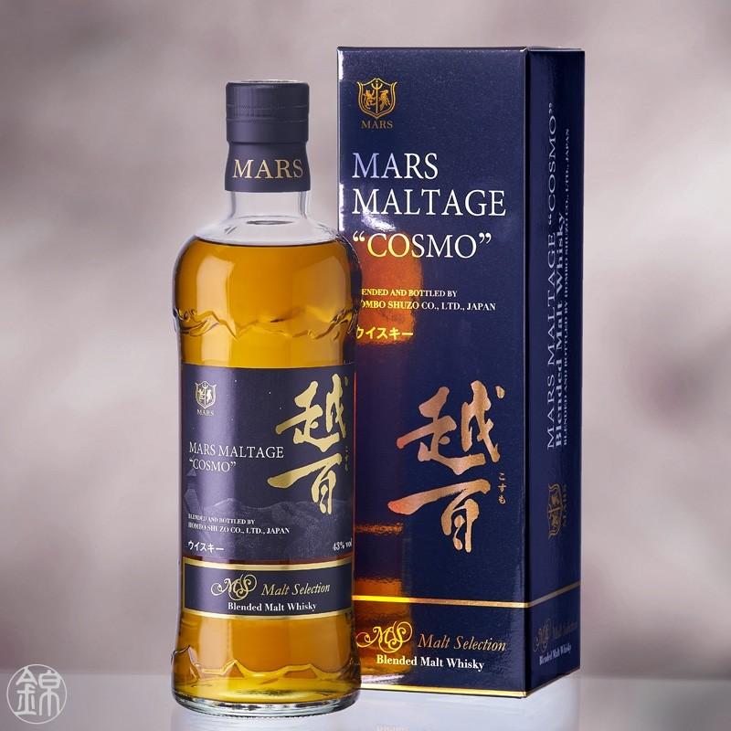 Mars Maltage Cosmo Malt Selection Japanese Whisky