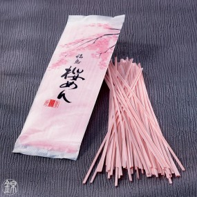 Sômen Sakura Men à la feuille de cerisier Sakura Nouilles