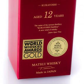 Whisky Matsui Kurayoshi 12 ans d'âge pure malt