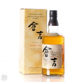 Whisky pure malt Matsui Kurayoshi Sherry Cask Whisky
