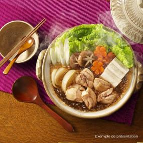 Bouillon pour Nabe à la sauce soja