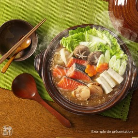 Nabe hot pot broth with miso