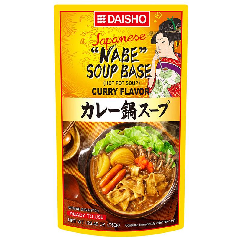 Bouillon pour Nabe au curry