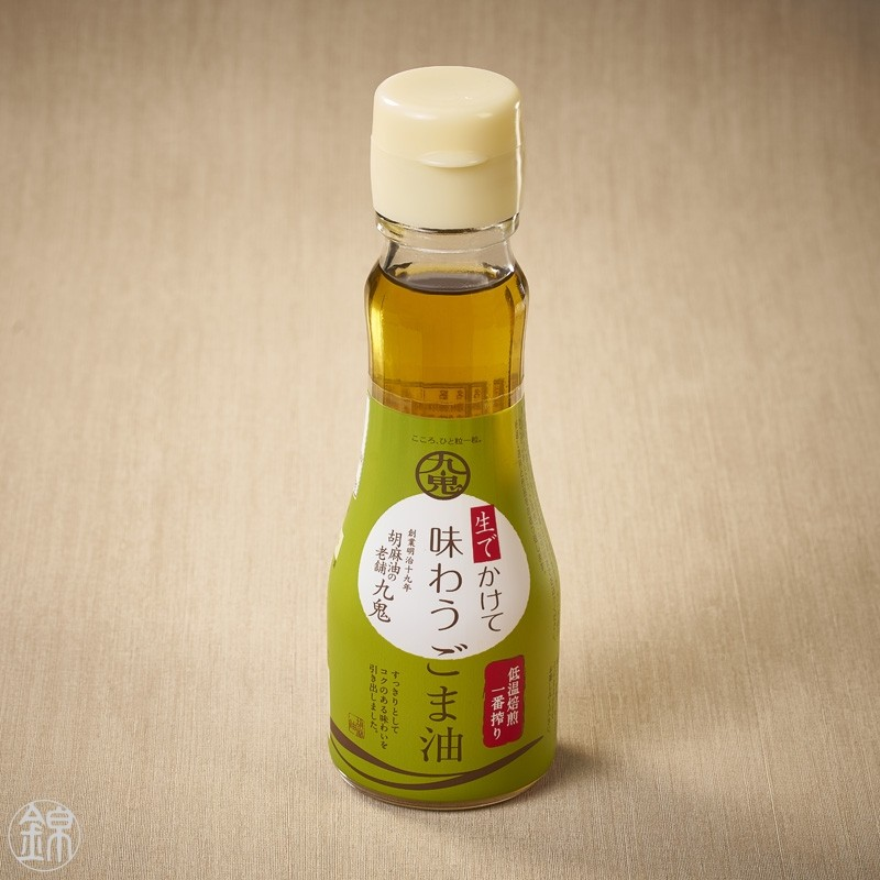 Low temperature roasted sesame oil Oil
