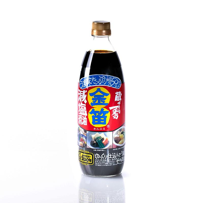 Sauce soja peu salée