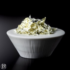 Pétales d'Or alimentaire E175 couleur Champagne Aides culinaires