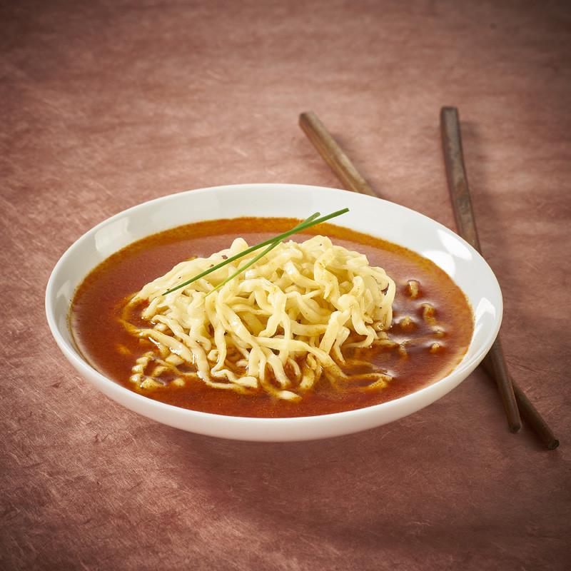 Kitakata Spicy Umakara soy sauce ramen instantanés Nouilles