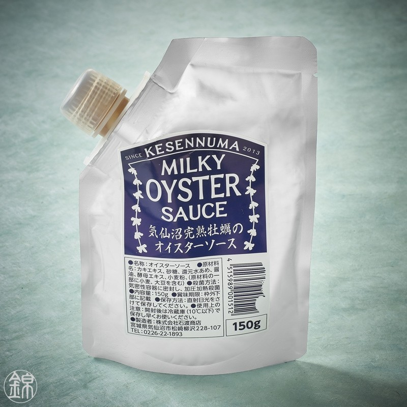 Creamy Japanese oyster sauce Japanese sauces
