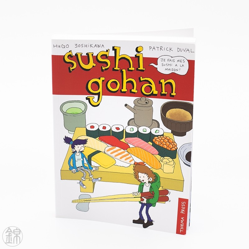 Livre SUSHI GOHAN Bookstore