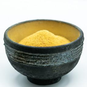 Powdered Mikan skin