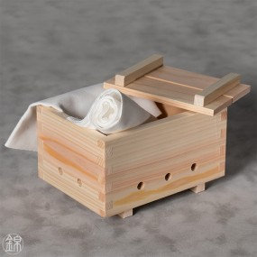 Hinoki cypress wood tofu or rice press Material