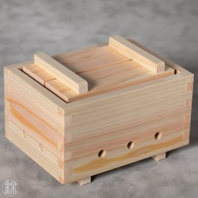 Presse à tofu ou à riz en bois de cyprès Hinoki Matériel